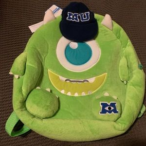 Other - New with tag Monster Inc backpack